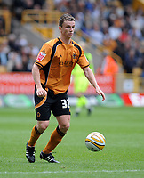 Molineux Wolverhampton Wanderers v Sheffield Wednesday (4-1) 16/08/2008 Championship<br /> Kevin Foley (Wolverhampton)<br /> Photo Roger Parker  Fotosports Interntional