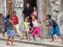 Dancing in the street.  Havana, Cuba