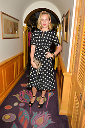 CHARLOTTE DELLAL at an exclusive dinner for Iris Apfel held at Annabel's, Berkeley Square, London on 29th July 2015.
