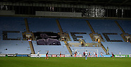 General view of the League match taking place in an empty stadium during the English League One match at the Rioch Arena Stadium, Coventry. Picture date: December 15th, 2016. Pic Simon Bellis/Sportimage