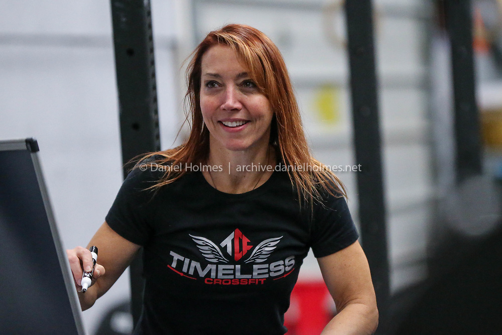 (11/28/17, FRANKLIN, MA) M.C. Alexander keep teaches crossfit class at Timeless Crossfit in Franklin on Tuesday. [Daily News and Wicked Local Photo/Dan Holmes]