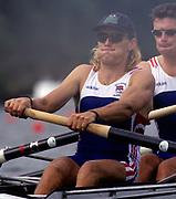 Atlanta, USA. GBR M4- stroke, Tim FOSTER. 1996 Olympic Rowing Regatta Lake Lanier, Georgia, USA.  [Mandatory Credit Peter Spurrier/ Intersport Images]