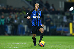January 21, 2018 - Milan, Italy - Joao Miranda of Internazionale  during the Serie A match between FC Internazionale and AS Roma at Stadio Giuseppe Meazza on January 21, 2018 in Milan, Italy. (Credit Image: © Matteo Ciambelli/NurPhoto via ZUMA Press)