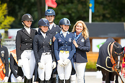 Team Sweden<br /> Young Riders<br /> European Championships Dressage <br /> Roosendaal 2017<br /> © Hippo Foto - Leanjo de Koster<br /> 11/08/17