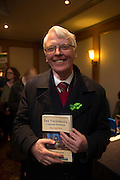 NO FEE PICTURES<br /> 20/1/16  Charlie O'Connor, TD at the launch of Noel Whelan's book, The Tallyman's Campaign Handbook at the Alexander Hotel in Dublin. Picture: Arthur Carron