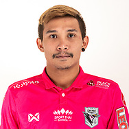 THAILAND - JUNE 06: Santiphap Ratniyom #33 of Chainat Hornbill FC on June 06, 2019.<br /> .<br /> .<br /> .<br /> (Photo by: Naratip Golf Srisupab/SEALs Sports Images/MB Media Solutions)
