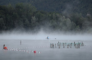 Aiguebelette, FRANCE, General View of  Lake Aiguebelette - Savoie. <br /> <br /> Venue for the 2015 FISA World Rowing Championships,  <br /> <br /> Wednesday  26/08/2015  [Mandatory Credit. Karon PHILLIPS/Intersport Images]. © Peter SPURRIER, Atmospheric, Rowing