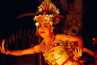 Balinese woman performing in a Ramayana Ballet, Ubud, Bali, Indonesia