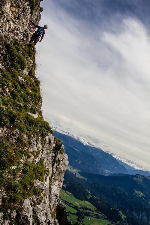 Pinut, Switzerland's odest via ferrata