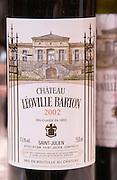 Chateau Leoville Barton, Saint Julien, Medoc, Bordeaux, France