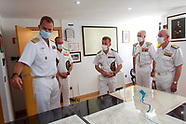 090220 King Felipe visits Naval Command of the Mino