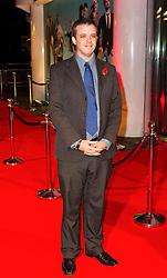 © London News Pictures. 07/11/2013. London, UK. Ben Garfield attending Virgin Media Shorts, BFI IMAX. Photo Credit: Raimondas Kazenas/LNP