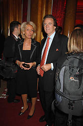 The DUCHESS OF MARLBOROUGH and  at a party to celebrate the launch of the 'Inde Mysterieuse' jewellery collection held at Lancaster House, London SW1 on 19th September 2007.<br /><br />NON EXCLUSIVE - WORLD RIGHTS