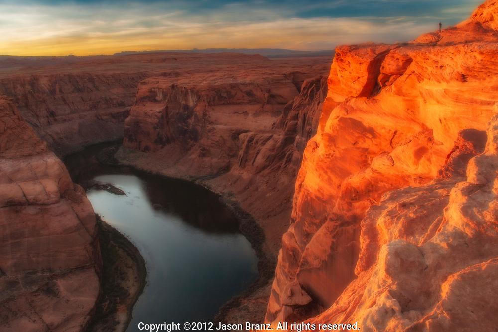 The Colorado River near Page, Arizona.
