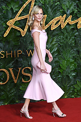 Poppy Delevingne attending the Fashion Awards in association with Swarovski held at the Royal Albert Hall, Kensington Gore, London