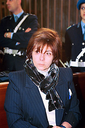 Italy, Milan - undated.Patrizia Reggiani arrested..Patrizia Reggiani arranged the murder of her ex-husband Maurizio Gucci in 1995, and she was sentenced to 26 years in prison in 1998..Here during a trial. (Credit Image: © Fotogramma/Ropi via ZUMA Press)