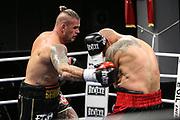 BOXEN: EC Boxing, Schwergewicht, Hamburg, 31.10.2020<br /> Michael Wallisch - Kai Kurzawa<br /> © Torsten Helmke