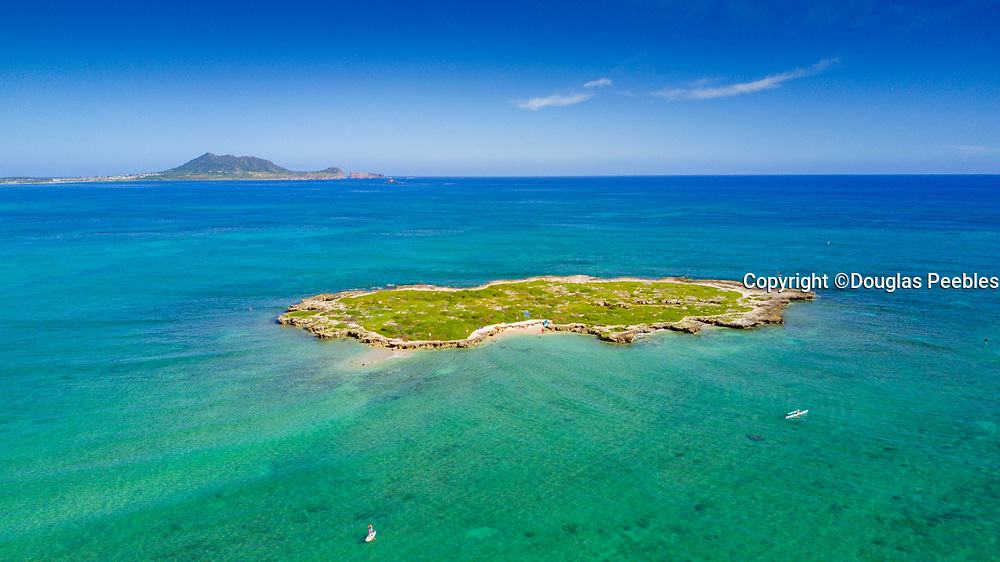 Flat Island, Kailua,Beach,  Oahu, Hawaii