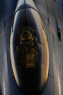 A Royal Netherlands Air Force F-16 Fighting Falcon aircraft moves into position to receive fuel May 28, 2008 from a KC-135R Stratotanker during a mission over Afghanistan. The KC-135R is assigned to the 22nd Expeditionary Air Refueling Squadron, 376th Air Expeditionary Wing and is deployed from Fairchild Air Force Base Wash. (U.S. Air Force photo by Master Sgt. Andy Dunaway) (Released).