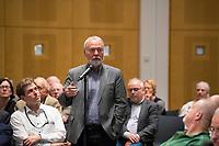 DEU, Deutschland, Germany, Berlin, 17.10.2017: Markus Meckel (SPD) bei einer Veranstaltung der Friedrich Ebert Stiftung.