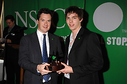 Left to right, GEORGE OSBORNE MP and NICHOLAS HOULT at a reception for the third NSPCC Hall of Fame Awards Ceremony in the Members Dining Room, The House of Commons, London on 15th May 2007.<br /><br />NON EXCLUSIVE - WORLD RIGHTS