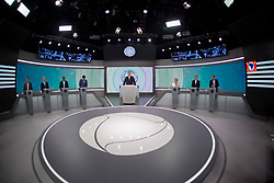 September 29, 2018 - Sao Paulo, Sao Paulo, Brazil - Debate of the 2018 elections with candidates for governor of Sao Paulo, in the Record TV studios. (Credit Image: © Paulo Lopes/ZUMA Wire)