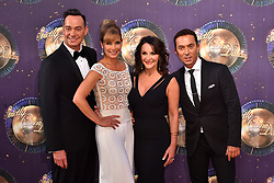 Left to right, Craig Revel Horwood, Darcey Bussell, Shirley Ballas and Bruno Tonioli at the launch of Strictly Come Dancing 2017 at Broadcasting House in London.