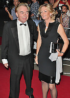 LONDON - September 04: Andrew Lloyd Webber & Madeleine Lloyd Webber at the GQ Men of the Year Awards 2012 (Photo by Brett D. Cove)