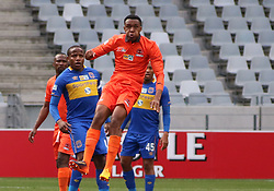 Polokwane City defender Sammy Seabi in an MTN8 quarter-final match against Cape Town City at the Cape Town Stadium on August 12, 2017 in Cape Town, South Africa.