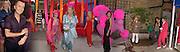 Julian Macdonald, Zandra Rhodes, Princess Michael of Kent, Meryl Thomas, Shakira Caine, <br />Joanna Rahim and Duggie Fields, Opening party, Zandra Rhodes Museum fashion and textiles. Bermondsey St. 8 May 2003. © Copyright Photograph by Dafydd Jones 66 Stockwell Park Rd. London SW9 0DA Tel 020 7733 0108 www.dafjones.com