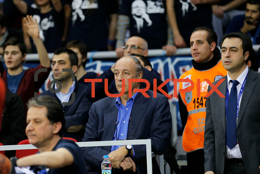 Anadolu Efes's and CSKA Moscow's during their Turkish Airlines Euroleague Basketball Top 16 Round 3 match Anadolu Efes between CSKA Moscow at Abdi ipekci arena in Istanbul, Turkey, Thursday 15, 2015. Photo by Aykut AKICI/TURKPIX