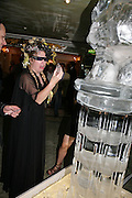 KATRINE BOORMAN, Beyond Belief-Damien Hirst. White Cube Hoxton and Mason's Yard.Party  afterwards at the Dorchester. Park Lane. 2 June 2007.  -DO NOT ARCHIVE-© Copyright Photograph by Dafydd Jones. 248 Clapham Rd. London SW9 0PZ. Tel 0207 820 0771. www.dafjones.com.