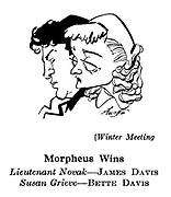 Winter Meeting ; James Davis and Bette Davis