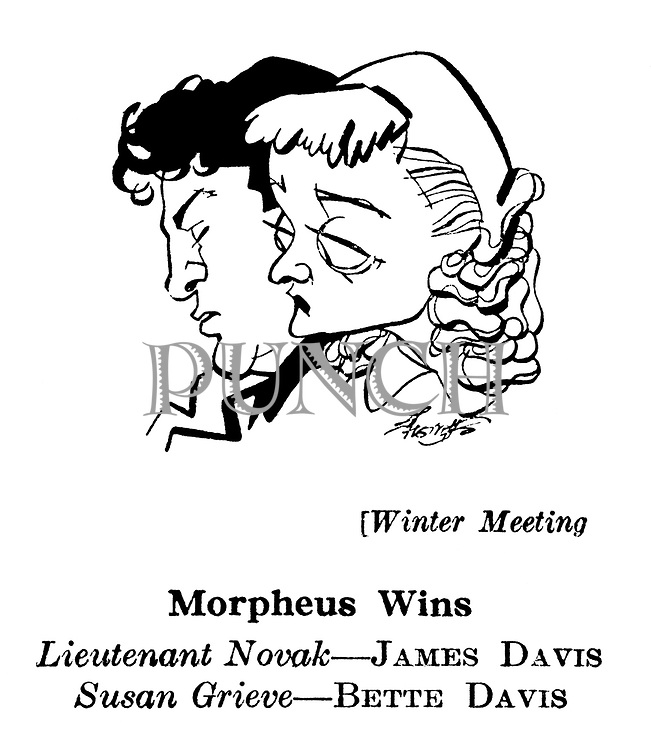 Winter Meeting ; James Davis and Bette Davis