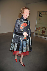 GRAYSON PERRY at the Montblanc de la Culture Arts Patronage Award 2009 held at the Tate Modern, Bankside, London SE1 on 16th April 2009.