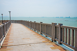 September 6, 2017 - Xiamen, Xiamen, China - Xiamen, CHINA (EDITORIAL USE ONLY. CHINA OUT) ..Beach scenery of Xiamen in southeast China's Fujian Province. The 9th BRICS Summit is held in Xiamen, Fujian Province in September 2017 under China's Chairmanship. Within the framework of the BRICS Summit the business program will take place in Shanghai and Xiamen (China) from August 31 to September 4, 2017. (Credit Image: © SIPA Asia via ZUMA Wire)