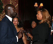 Ozwald Boateng & Queen Lafifah .ìDreamgirlsî Premiere Post Party.Gin Lane Restaurant.New York, NY, USA .Monday, December 04, 2006.Photo By Selma Fonseca/ Celebrityvibe.com.To license this image call (212) 410 5354 or;.Email: celebrityvibe@gmail.com; .Website: http://www.celebrityvibe.com/. ....