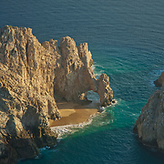 The Arch. Rock formation at the tip of the peninsula. Cabo San Lucas.