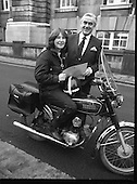 1981 - New Motorcycle Messenger Girl.    (P4).