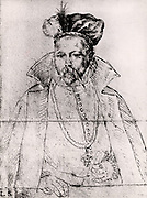 Tycho Brahe (Tyge Ottesen Brahe - 1546-1601) Danish astronomer, astrologer and alchemist who built astronomical instruments which enabled him to make the most accurate observations of his time. After a painting by an unknown artist.
