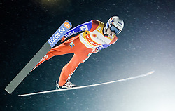 22.02.2016, Puijo, Kuopio, FIN, FIS Weltcup Ski Sprung, Kuopio, Teamspringen, im Bild Anders Fannemel (NOR) // Anders Fannemel of Norway during Mens Teamevent of Kuopio FIS Skijumping World Cup at the Puijo in Kuopio, Finland on 2016/02/22. EXPA Pictures © 2016, PhotoCredit: EXPA/ Tadeusz Mieczynski
