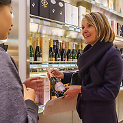 Séverine Frerson prepares to take over the role of cellar master from Hervé Deschamps at champagne Perrier-Jouët, performing a market visit in Tokyo. Frerson will be the first woman at the helm in a row of seven male cellar masters before her. Founded in 1811 in Epernay, Maison Perrier-Jouët is one of France's most historic champagne houses, but also one of its most distinctive, renowned for its floral and intricate champagnes which reveal the true essence of the Chardonnay grape. Started in 1811, its cellars holds the world's two oldest known bottles of champagne, the 1825 vintage.