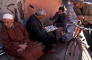 Inside the bazar of the old Medinah,  Marrakesh