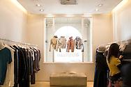 Personal Shopper, Damasia Lemos shopping at the Trosman Boutique in Patio Bullrich