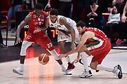 Davide Pascolo,Abass Abass Awudu,Marble Devyn<br /> Milano - Trento<br /> Lega Basket Serie A 2016/2017<br /> Milano 02/04/2017<br /> Foto Ciamillo-Castoria / GiulioCiamillo