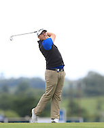 Colm Campbell (AM) on the 15th fairway during Round 2 of the Northern Ireland Open in Association with Sphere Global & Ulster Bank at Galgorm Castle Golf Club on Friday 7th August 2015.<br /> Picture:  Thos Caffrey / www.golffile.ie