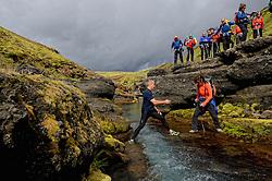 09-07-2014 ISL: Iceland Diabetes Challenge Dag 5, Emstrur<br /> Van Alftavatn naar Emstrur / Femke