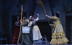 August 18, 2017 - Santiago, SANTIAGO, CHILE - Santiago Chile August 18, 2017. (LAST PRESS). THE CENICIENTA. By the Italian composer Gioacchino Rossini reinterprets the story that has enchanted generations. A dramma giocoso, which reveals the infinite possibilities of the virtuosity that characterizes bel canto. It is presented this August 20 at the Municipal Theater of Santiago. Santiago Chile 18 August 2017. LUISVARGAS / ZUMAPRESS  (Credit Image: © Luis Vargas via ZUMA Wire)