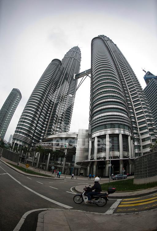 Picture by Daniel Hambury. .23/12/10..Petronas Towers, Kuala Lumpur, Malaysia