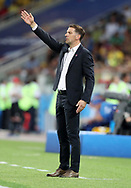 Serbia head coach Mladen Krstajic during the 2018 FIFA World Cup Russia, Group E football match between Erbia and Brazil on June 27, 2018 at Spartak Stadium in Moscow, Russia - Photo Tarso Sarraf / FramePhoto / ProSportsImages / DPPI